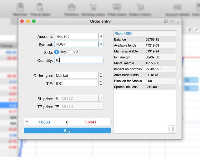 Trading Platform for Mac — Protrader