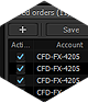 Saved Orders - Protrader for Windows